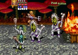 Golden Axe: Revenge Of Death Adder (ARC)  © Sega 1991   3/7