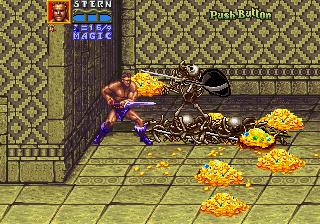 Golden Axe: Revenge Of Death Adder (ARC)  © Sega 1991   5/7