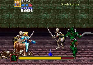 Golden Axe: Revenge Of Death Adder (ARC)  © Sega 1991   6/7