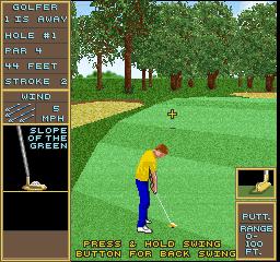 Golden Tee Golf (ARC)  © Strata 1990   3/3