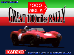 Great 1000 Miles Rally (ARC)   © Kaneko 1994    1/4
