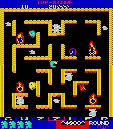 Guzzler (ARC)  © Tecmo 1983   2/4