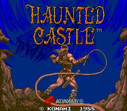 Haunted Castle (ARC)  © Konami 1988   1/5