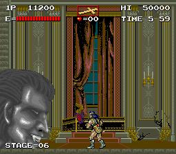 Haunted Castle (ARC)  © Konami 1988   2/5