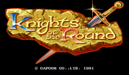 Knights Of The Round (ARC)   © Capcom 1991    1/4