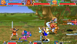 Knights Of The Round (ARC)   © Capcom 1991    2/4