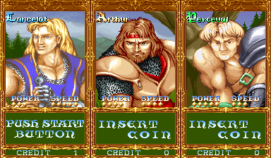 Knights Of The Round (ARC)   © Capcom 1991    4/4
