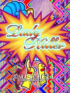 Lady Killer (ARC)  © Mitchell 1993   1/4
