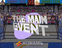The Main Event (ARC)  © Konami 1988   1/4