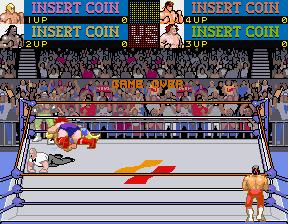 The Main Event (ARC)  © Konami 1988   4/4