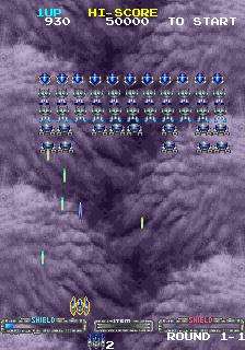 Super Space Invaders (ARC)  © Taito 1990   2/6