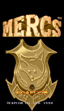 Mercs (ARC)  © Capcom 1990   1/7