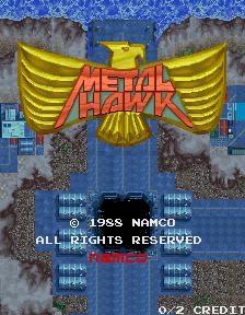 Metal Hawk (ARC)  © Namco 1988   1/5