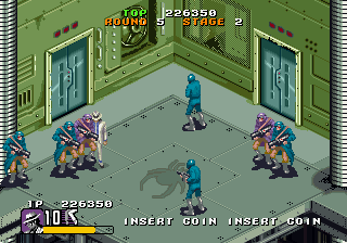 Moonwalker (1990) (ARC)  © Sega 1990   4/6