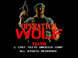 Operation Wolf (ARC)  © Taito 1987   1/5