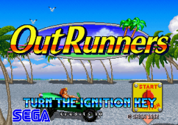 Out Runners [Upright]  © Sega 1993  (ARC)   1/4