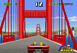Out Runners [Upright]  © Sega 1993  (ARC)   2/4