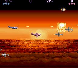 P-47 (ARC)  © Jaleco 1988   3/5