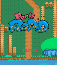 Panic Road (ARC)  © Taito 1986   1/2