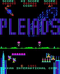Pleiads (ARC)  © Tecmo 1981   1/3