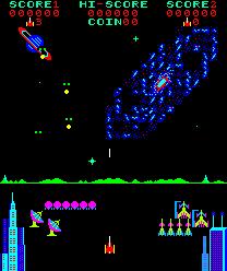 Pleiads (ARC)  © Tecmo 1981   2/3
