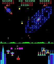 Pleiads (ARC)  © Tecmo 1981   3/3