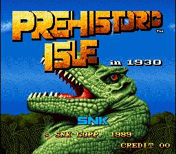 Prehistoric Isle (ARC)  © SNK 1989   1/5
