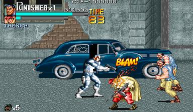Punisher, The (1993) (ARC)  © Capcom 1993   4/5