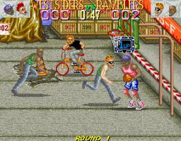 Punk Shot (ARC)  © Konami 1990   2/4
