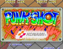Punk Shot (ARC)  © Konami 1990   1/4