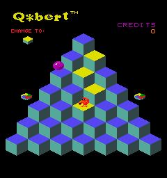 Q*bert (ARC)  © Gottlieb 1982   2/6