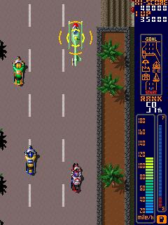 Rally Bike (ARC)  © Taito 1988   3/3