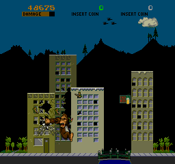 Rampage (ARC)  © Bally Midway 1986   4/4