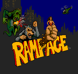 Rampage (ARC)   © Bally Midway 1986    1/4