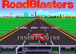 RoadBlasters (ARC)  © Atari Games 1987   1/4