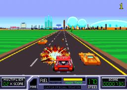 RoadBlasters (ARC)  © Atari Games 1987   2/4