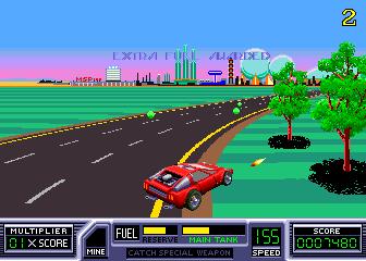 RoadBlasters (ARC)  © Atari Games 1987   4/4