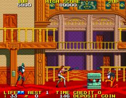 Rolling Thunder 2 (ARC)  © Namco 1990   2/4