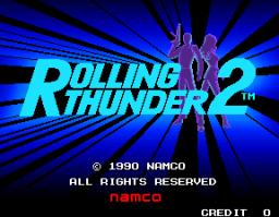 Rolling Thunder 2 (ARC)  © Namco 1990   1/4
