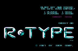 R-Type  © Irem 1987  (ARC)   1/5