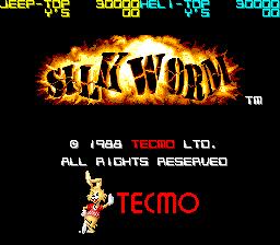 Silkworm (ARC)  © Tecmo 1987   1/4