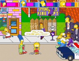 The Simpsons (ARC)  © Konami 1991   2/6