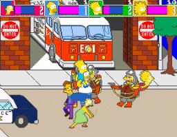 The Simpsons (ARC)  © Konami 1991   3/6