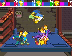The Simpsons (ARC)  © Konami 1991   4/6