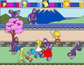 The Simpsons (ARC)  © Konami 1991   5/6