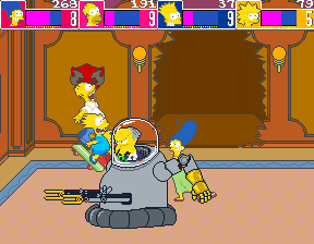 The Simpsons (ARC)  © Konami 1991   6/6