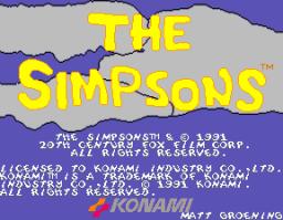 The Simpsons (ARC)  © Konami 1991   1/6