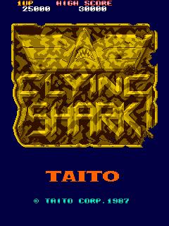 Flying Shark (ARC)  © Taito 1987   1/4