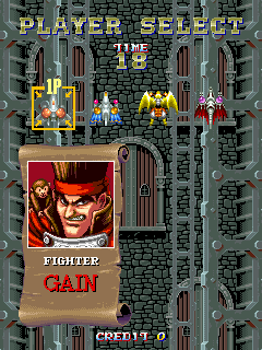 Sorcer Striker (ARC)  © Raizing 1993   5/12