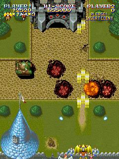 Sorcer Striker (ARC)  © Raizing 1993   7/12